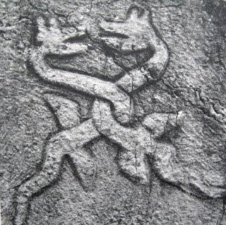 dragons on stecak