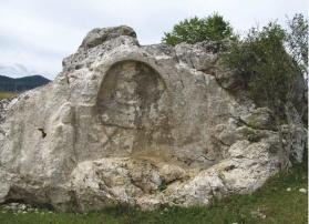 Fragment from the temple of god Mitra, Jurandvor