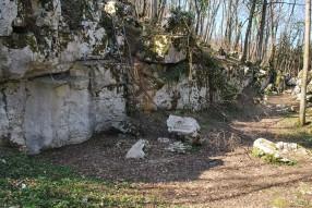 Fragment from the temple of god Mitra Rozanac, Slovenia