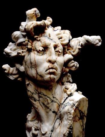 Medusa-statue