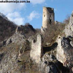 Stari grad Samobor na uscu Janjine u Drinu,,kod Gorazda 2